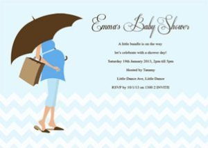 Australian baby shower invites